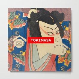 Tokimasa Ukiyo-e Metal Print