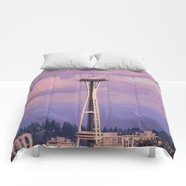 Seattle Space_Needle Comforters