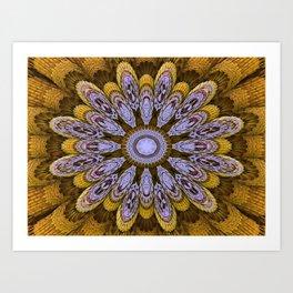 Candys Mandala Art Art Print