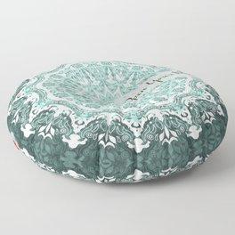 Mandala - Open Your Mind Floor Pillow