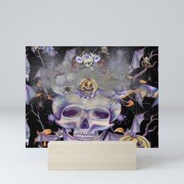 Skully the Skeleton and Friends Mini Art Print