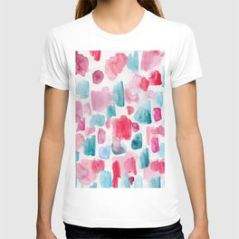 9 | 200130 | Watercolor Painting | Abstract Art | Abstract Pattern | Watercolor Art T-shirt