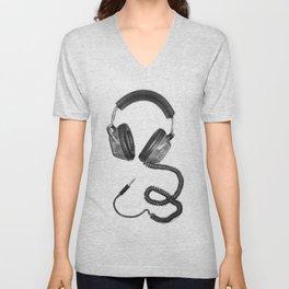 Headphone Culture Unisex V-Neck