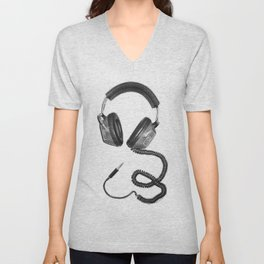 Headphone Culture Unisex V-Neck