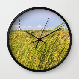 Lighthouse in the Distance Wall Clock