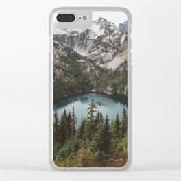 Alpine View in the North Cascades Clear iPhone Case