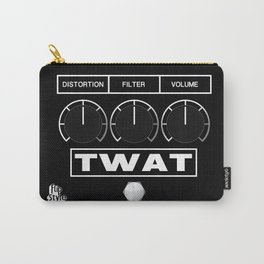 'Twat' Guitar Pedal Carry-All Pouch