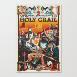 Holy Grail Canvas Print