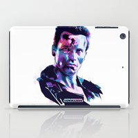arnold iPad Cases featuring Arnold Schwarzenegger: BAD ACTORS by Largetosti