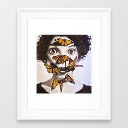 strange mercy Framed Art Print
