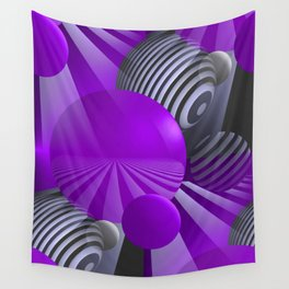 3D - abstraction -110- Wall Tapestry