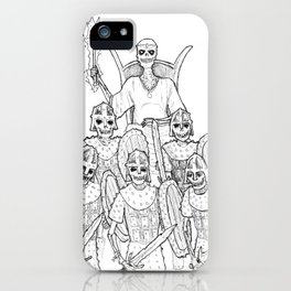 The Lich Enthroned iPhone Case