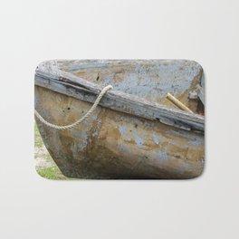 Micheal rode his boat ashore Bath Mat