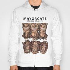 Emancipated Monkeys  Hoody