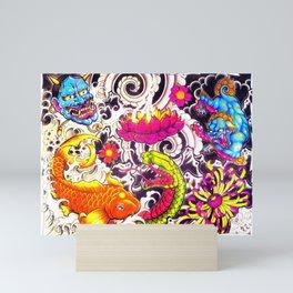 Copa america special design Mini Art Print