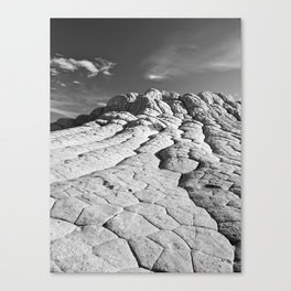 The Brain Rocks of White Pocket Canvas Print