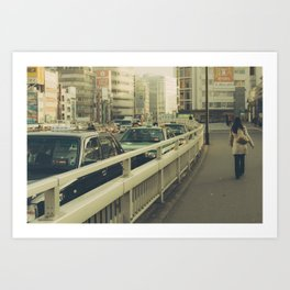 Vintage Tokyo Art Print