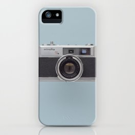 minolta 7s - vintage camera  iPhone Case