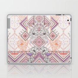 Aztec Lines Floral Laptop & iPad Skin
