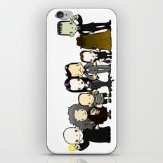 They're creepy and they're kooky iPhone & iPod Skin