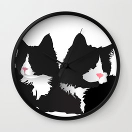 Fancy-Shmancy Tuxedos Wall Clock
