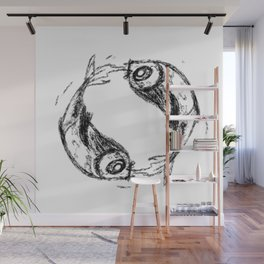Fing and Fang Wall Mural