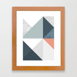 Modern Geometric 12 Framed Art Print