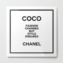 coco quote no. 10 Metal Print