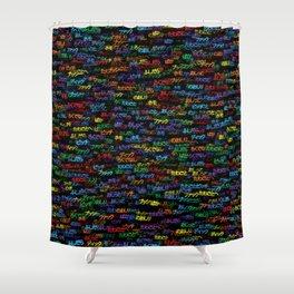 Japanese swear words Shower Curtain
