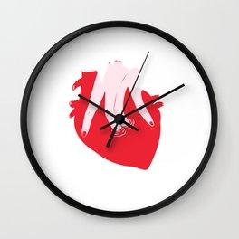 ponme la mano aquí Wall Clock