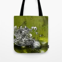 resident evil Tote Bags featuring Resident by JoeyDrawing