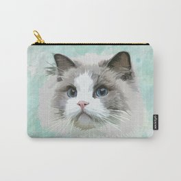 Pretty Cat Carry-All Pouch