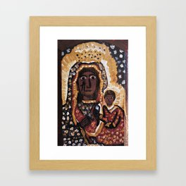 Our Lady of Czestochowa Framed Art Print