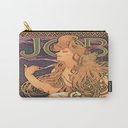Vintage poster - JOB Cigarettes Carry-All Pouch