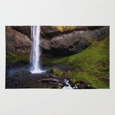 latourell falls. Rug