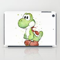 yoshi iPad Cases featuring Yoshi by Olechka