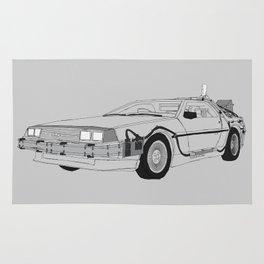 DeLorean DMC-12 Rug