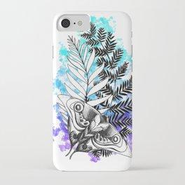 The Last Of Us Tattoo Color Splash iPhone Case