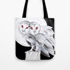 Mutant Owls Tote Bag