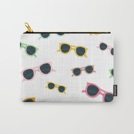 Colored sunglasses Carry-All Pouch