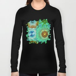 Superinstitute Open Flower  ID:16165-114222-70591 Long Sleeve T-shirt