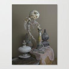 Rucus Studio Halloween Ghostly Haunt Canvas Print