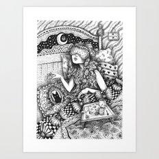 I Want to be a Princess When I Wake Up Art Print