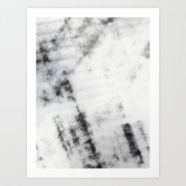 Black & White Abstract Series ~ 7 Art Print