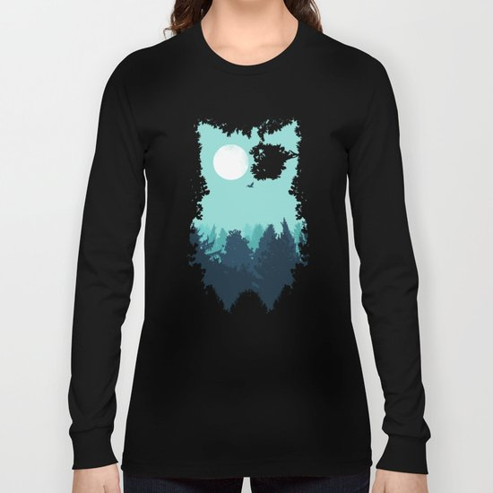 Winter Owl Long Sleeve T-shirt