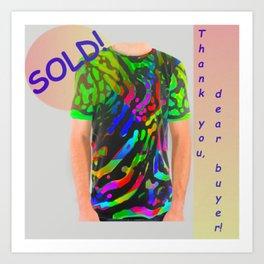Blogpost, thank-you-pic ... Art Print