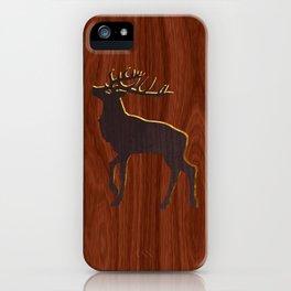 Les Bois iPhone Case