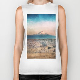 Desert Mountain Adventure - Nature Photography Biker Tank