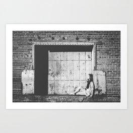 Sit Art Print