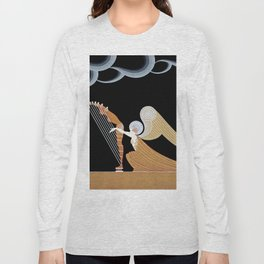 "Art Deco Design ""The Angel"" Long Sleeve T-shirt"